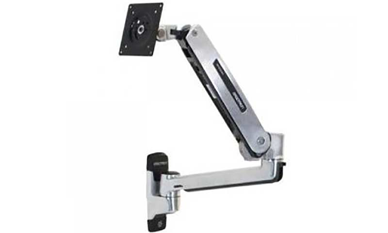 Ergotron 45-353-026, LX Sit-Stand Wall Mount LCD Arm