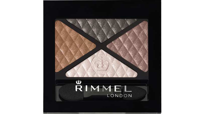 Rimmel Glam`Eyes Colour Rush Quad Eye Shadow