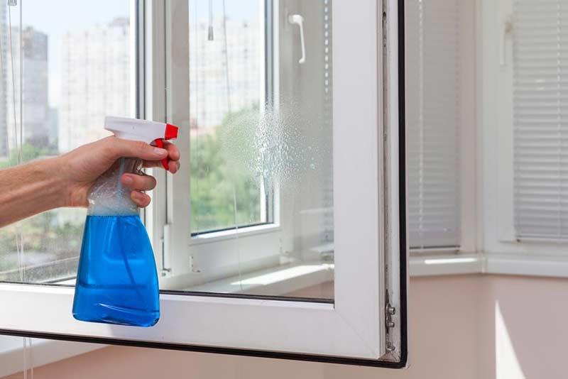 Тряпка для мытья окон без разводов
