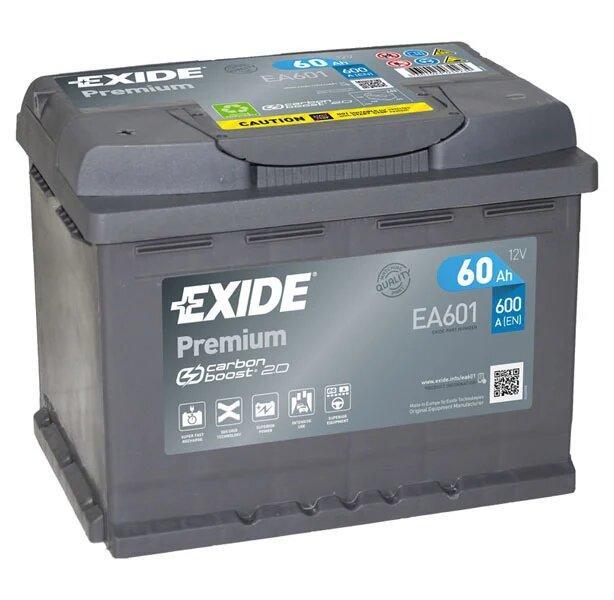 Exide Premium EA601 фото