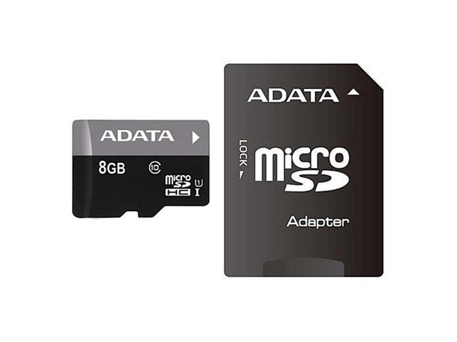 ADATA microSDHC Class 10 + SD adapter фото