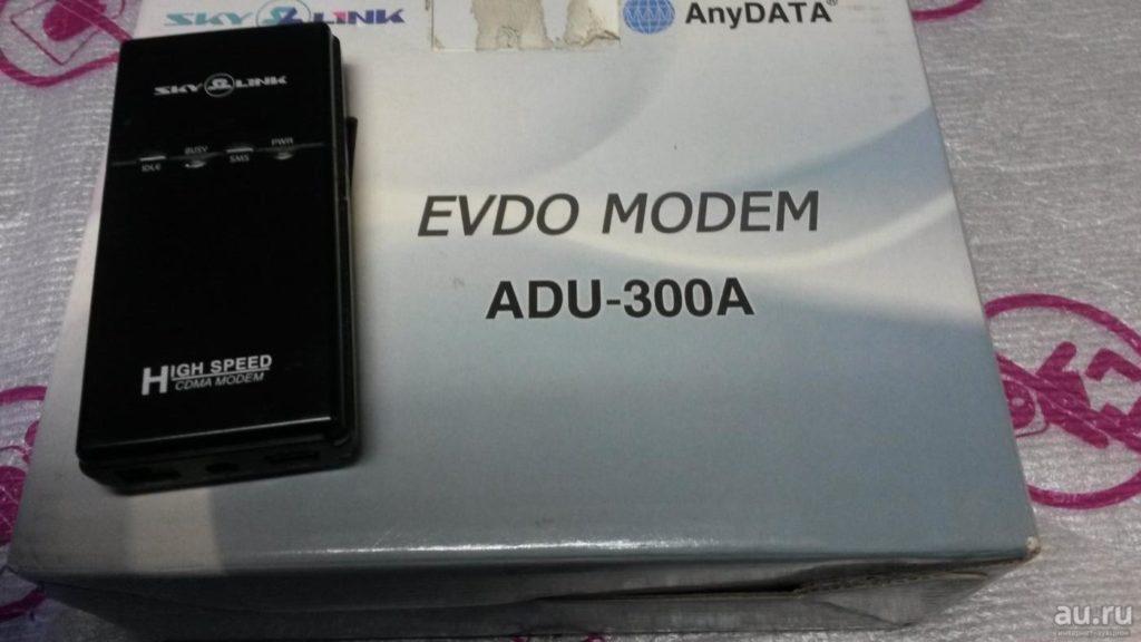 CDMA модем AnyDATA ADU-300A фото