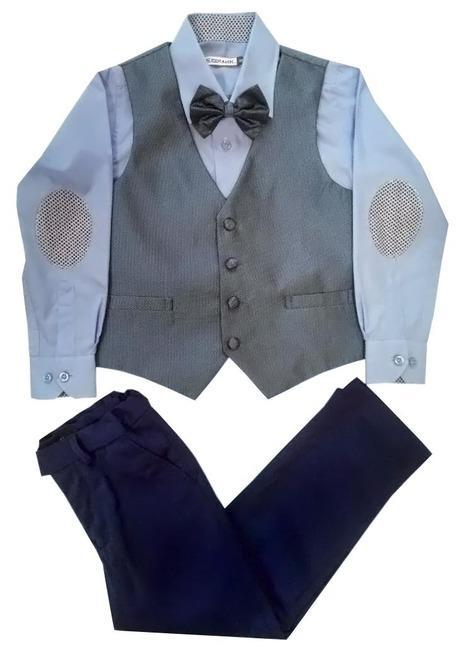 Комплект одежды Елена и Ко для мальчика 4 пр. т.синий фото