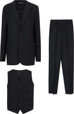 Костюм брюки/пиджак/жилет Rodeng, цвет: синий фото
