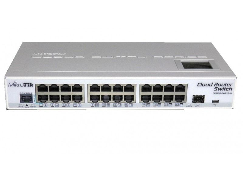 MikroTik Cloud Router Switch CRS125-24G-1S-IN фото