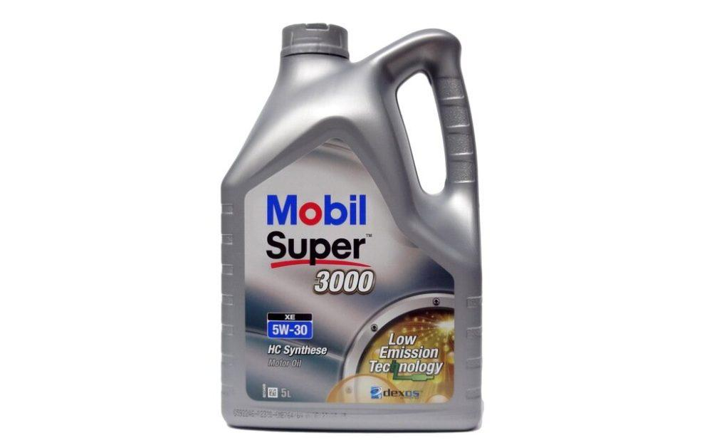 MOBIL Super 3000 X1 5W-40 4 л фото