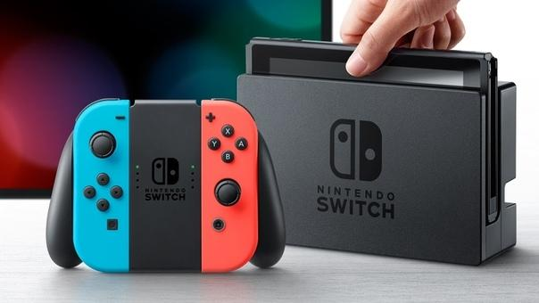 Nintendo Switch фото