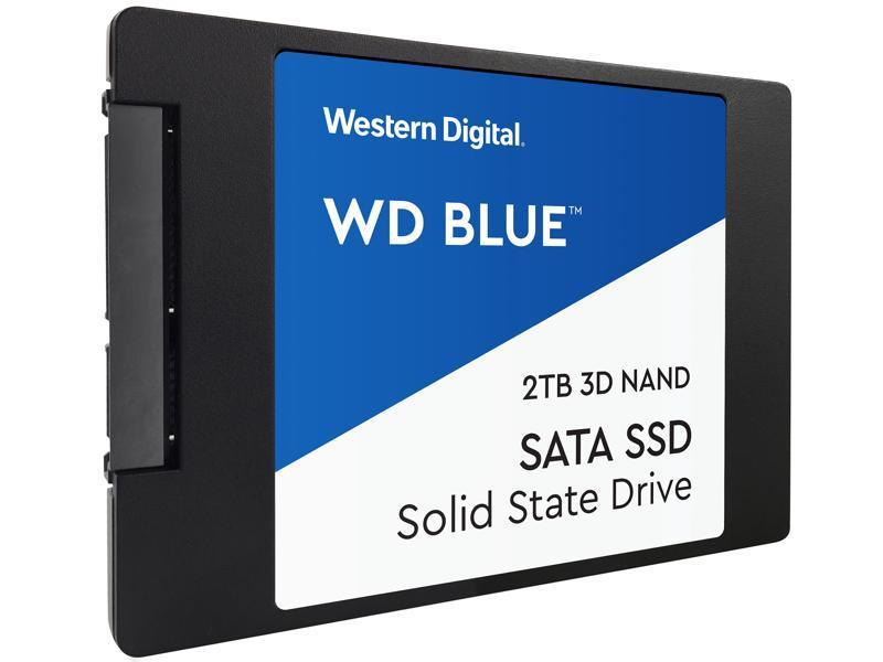 Western Digital WD BLUE 3D NAND SATA SSD 500 GB (WDS500G2B0A) фото
