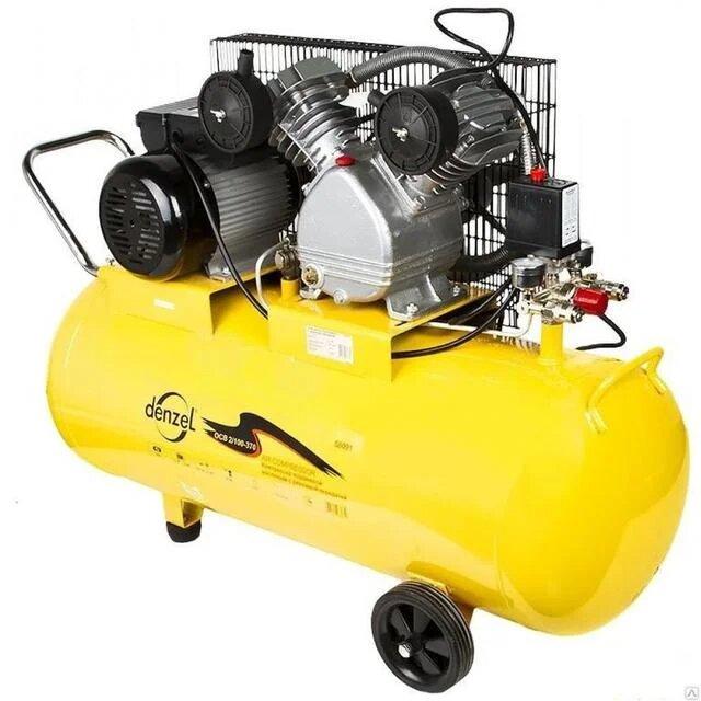 Denzel PC 2/100-370, 100 л, 2.2 кВт фото