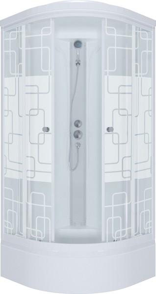 Triton Рио 90 (ДН Эко/Графит) средний поддон 90см*90см фото