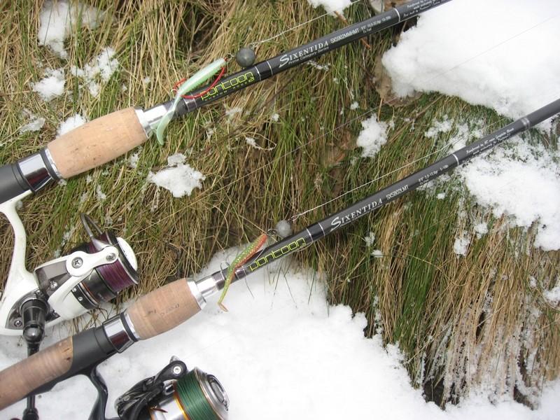 Спиннинг для рыбака на Новый год