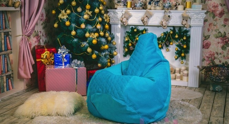 Мягкое кресло - идея подарка на Новый год