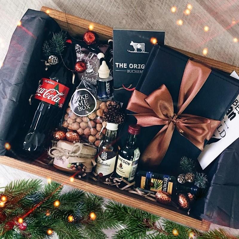 Набор элитного алкоголя - лучшая идея подарка на Новый год