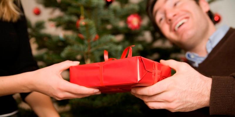 подарок сюрприз на Новый год