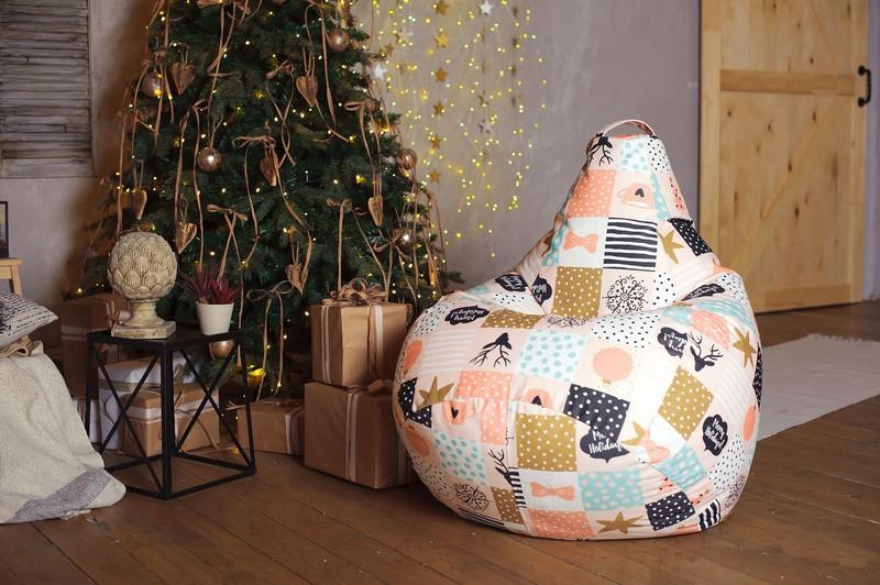 Мягкое кресло как подарок на Новый год мужчине