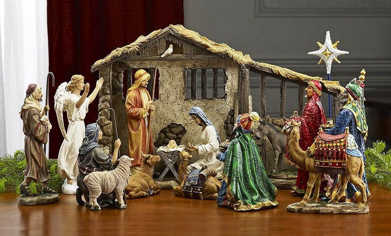Рождественские фигурки для вертепа