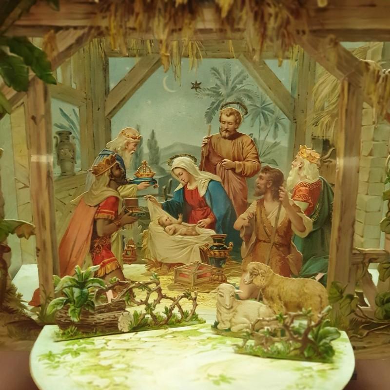 Самодельные Рождественские ясли